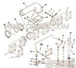 【机油供应管】康明斯CUMMINS柴油机的3200143 机油供应管