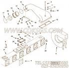 【涡轮增压器热毯】康明斯CUMMINS柴油机的4967565 涡轮增压器热毯