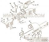 【涡轮增压器支架】康明斯CUMMINS柴油机的3331528 涡轮增压器支架