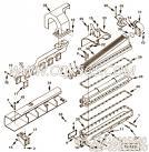 【涡轮增压器支架】康明斯CUMMINS柴油机的3096473 涡轮增压器支架