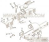 【涡轮增压器支架】康明斯CUMMINS柴油机的3410243 涡轮增压器支架