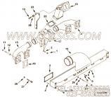 【涡轮增压器支架】康明斯CUMMINS柴油机的4009573 涡轮增压器支架