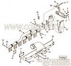 【涡轮增压器支架】康明斯CUMMINS柴油机的3284889 涡轮增压器支架