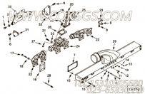 【涡轮增压器支架】康明斯CUMMINS柴油机的4067746 涡轮增压器支架