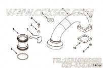 【空气交叉管】康明斯CUMMINS柴油机的4916848 空气交叉管