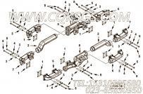 【排气歧管】康明斯CUMMINS柴油机的3630172 排气歧管