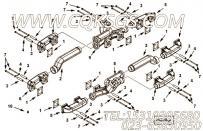 3630164螺塞,用于康明斯KTA38-C1200柴油发动机排气管组,更多【深圳寿力空压机】配件报价