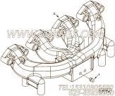 【排气歧管】康明斯CUMMINS柴油机的C6205115130 排气歧管