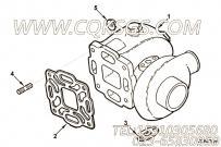 【涡轮增压器】康明斯CUMMINS柴油机的3802306 涡轮增压器