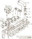 【柴油机C245 33的增压器布置组】 康明斯排气歧管报价,参数及图片