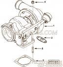 【涡轮增压器组件】康明斯CUMMINS柴油机的3802896 涡轮增压器组件