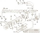 【软管】康明斯CUMMINS柴油机的3905082 软管
