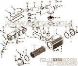【柴油机B5.9-195G的增压器出气口连接件组】 康明斯V型卡箍报价,参数及图片