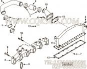 【适配器弯头】康明斯CUMMINS柴油机的3280861 适配器弯头