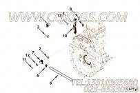 【发动机EQB210-10的推杆室盖组】 康明斯T形螺栓卡箍报价,参数及图片