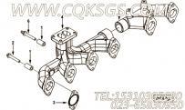 【发动机6LTAA8.9-M315的增压器布置组】 康明斯六角法兰面螺栓报价,参数及图片