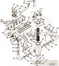 【软管支撑】康明斯CUMMINS柴油机的3865901 软管支撑