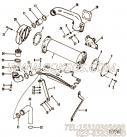 【六角头螺栓】康明斯CUMMINS柴油机的107993 六角头螺栓