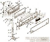 3073179机油冷却器总成,用于康明斯KTA19-M600发动机机油冷却器组,更多【船舶】配件报价