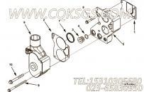 【温控器密封】康明斯CUMMINS柴油机的3084879 温控器密封