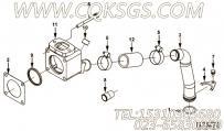 3024384节温器壳体,用于康明斯NTA855-G2(M)主机出水管联接组,更多【船舶】配件报价