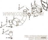 【节温器盖】康明斯CUMMINS柴油机的3104697 节温器盖