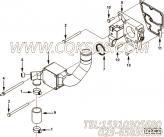 【节温器盖】康明斯CUMMINS柴油机的3106155 节温器盖