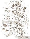 3633972T型抱箍,用于康明斯KTA38-G5-800GF柴油发动机输水管组,更多【发电机组】配件报价