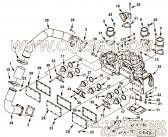 【恒温壳盖】康明斯CUMMINS柴油机的4066825 恒温壳盖