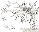 【恒温壳垫片】康明斯CUMMINS柴油机的3635354 恒温壳垫片