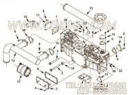 【接头密封垫】康明斯CUMMINS柴油机的4956635 接头密封垫