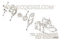 【发动机EQB150 20的进气连接件组】 康明斯六角法兰面螺栓报价,参数及图片