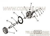 3010590带垫螺栓,用于康明斯NTC-400柴油机附件驱动安装组,更多【高空作业车】配件报价