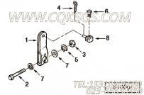102477操纵杆,用于康明斯KTA19-M500发动机油门操纵杆组,更多【船用】配件报价