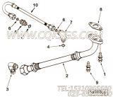 【柔性软管】康明斯CUMMINS柴油机的3865163 柔性软管
