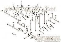 【柔性软管】康明斯CUMMINS柴油机的4098818 柔性软管