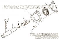 【压缩弹簧】康明斯CUMMINS柴油机的4096055 压缩弹簧