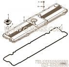 【3967772】气阀室罩 用在康明斯引擎