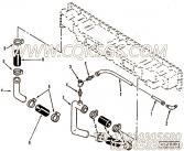 3027449中冷器进水管,用于康明斯M11-C350柴油发动机中冷器进水管组,更多【兰州盛达压裂车】配件报价
