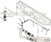 3400825软管,用于康明斯M11-C225H柴油机中冷器进水管组,更多【吊管机】配件报价