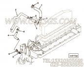 【柴油机6BT5.9-C100的中冷器管路组】 康明斯中冷器进水管报价,参数及图片