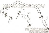 【引擎4BTA3.9-GM65的中冷器管路组】 康明斯中冷器水管报价,参数及图片