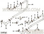 【水出口管】康明斯CUMMINS柴油机的4063680 水出口管