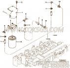 【软管】康明斯CUMMINS柴油机的3914614 软管