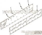 3895736总水室盖板,用于康明斯M11-C350柴油机总水室盖板组,更多【重庆红岩】配件报价