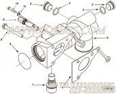 【接头密封垫】康明斯CUMMINS柴油机的3104236 接头密封垫