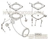 【Gasket, Wtr Trf Connection】康明斯CUMMINS柴油机的3179035 Gasket, Wtr Trf Connection