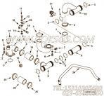 4003268输水管,用于康明斯KTA19-M640柴油发动机水管组,更多【船舶】配件报价