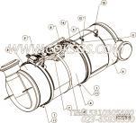 【Clamp, T Bolt】康明斯CUMMINS柴油机的4965075 Clamp, T Bolt