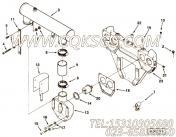 3176883隔热板,用于康明斯KTA38-G2-660KW主机风扇水箱组,更多【发电机组】配件报价